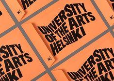 University of the Arts Helsinki Branding by Bond   Inspiration Grid   Design Inspiration