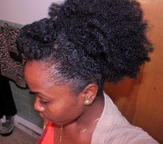 Inspiration : cheveux crépus longs - ça existe pour de vrai !!!