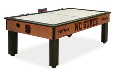 The Florida Gators Air Hockey Table by Holland Bar is an exciting addition to our line up of UF Man Cave Game Tables! The Air Hockey cabinet is laser engraved w Air Hockey, New York Islanders, St Louis Blues, Anaheim Ducks, Washington Capitals, Washington State, University Of Alabama, Syracuse University, Georgetown University