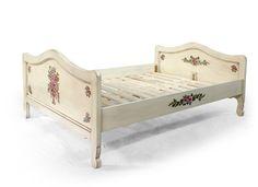 Ručně malovaná postel / Hnad painted bed www.svetpokladu.cz