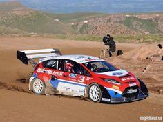 #Ford Fiesta Pikes Peak Rallycross
