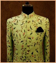 Jodhpuri Suit Inspiration For Men Indian Wedding Suits Men, Indian Groom Wear, Wedding Dress Men, Indian Wedding Outfits, Wedding Men, Bridal Outfits, Mens Sherwani, Sherwani Groom, Wedding Sherwani