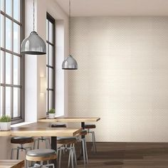 Check out this American Olean product: Photo features Visual Impressions Beige 8 x 24 Quadrangle on the wall. Choir Room, Best Places To Live, Counter Tops, Go Green, Wall Tiles, Neutral Colors, Bulletin Boards, Living Area, March