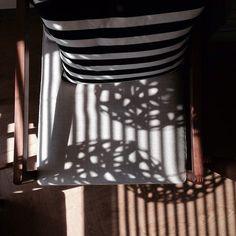 Stripes and shadows make patterns galore! FLORAL by @davidtrubridge image by ssomta via instagram #lighting