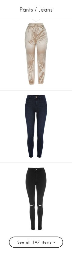 """""""Pants / Jeans"""" by sorryimjulia ❤ liked on Polyvore featuring pants, bottoms, jeans, blue, jeggings, women, blue leggings, tall jeggings, skinny pants and blue jeggings"""