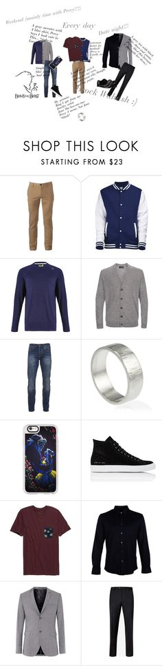 """Brock Wahash Castleton High"" by cali-life-for-me ❤ liked on Polyvore featuring Urban Pipeline, Tasc Performance, Paul Smith, Scotch & Soda, Lilia Nash Jewellery, Casetify, Common Projects, Rip Curl, Gucci and Topman"