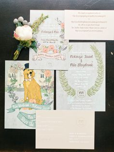 #INVITATION | Abby's FAVORITE Invitations on SMP this year! See this whimsical wedding right here -  http://www.stylemepretty.com/2013/09/30/whimsical-colorado-wedding-from-brumley-and-wells/   Brumley and Wells Photography | Karen O'Bryan Design