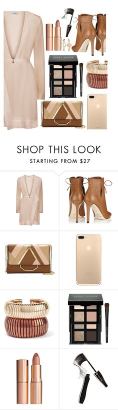 """""""Love The Look 4"""" by sallyqueen ❤ liked on Polyvore featuring Jimmy Choo, Louise et Cie, Rosantica, Bobbi Brown Cosmetics, Charlotte Tilbury, Lancôme and Accessorize"""