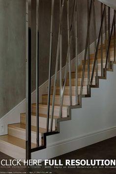 Fascinating Modern Stair Railing Design Ideas