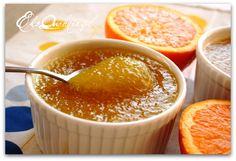 Pomarańczowy kisiel z tapioki   Eko Quchnia