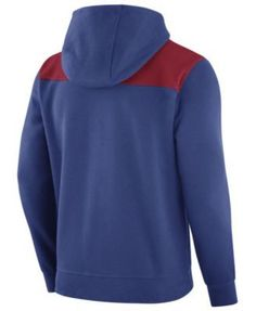 Nike Men's Chicago Cubs Av Full-Zip Hoodie - Blue XXL