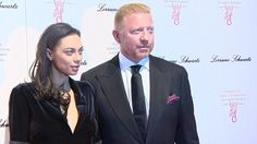 Tennis star Boris Becker and his wife Lilly looked classy and elegant in all-black as they arrived at the Gabrielle's Gala Fundraiser in London.