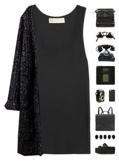 """""""Emma / Tag"""" by nauditaolivia ❤ liked on Polyvore featuring MICHAEL Michael Kors, GiGi New York, Danielle Foster and D.L. & Co."""