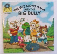 GET ALONG GANG BIG BULLY 272 Disney Little Golden Read Along Book Record SEALED