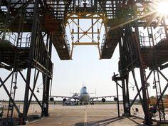 NASA - Shuttle Carrier Aircraft Arrives at Kennedy Space Center