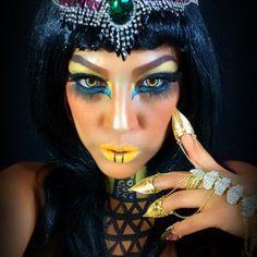 #Egytianmakeup Halloween make up