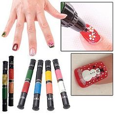 Migi Nail Polish Art Sets 12 Colors (6 Pens) - Original and Party Colors by CloseoutZone, http://www.amazon.com/dp/B004AW7AFC/ref=cm_sw_r_pi_dp_GiDPpb1JWNCQV