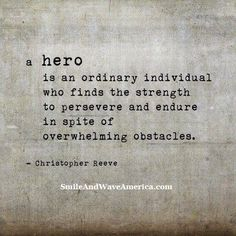 You are already a hero, now it's time to shine!