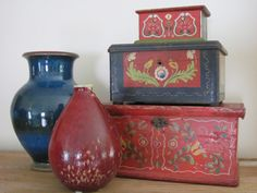 French pottery and wedding boxes | Flickr - Photo Sharing!