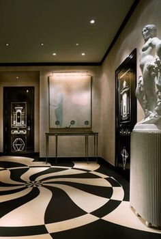 New York Penthouse Foyer ~ Cynthia Reccord