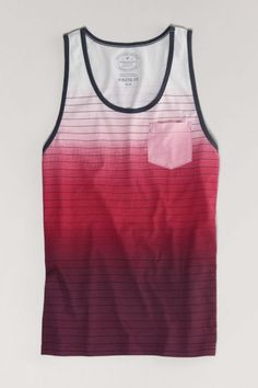 AEO Shoreline Tank, Men's, Size: 2XL, Artistic Repair