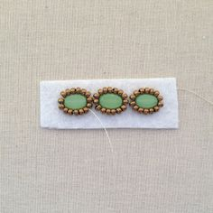 Lisa Yang's Jewelry Blog: Getting Started with Bead Embroidery