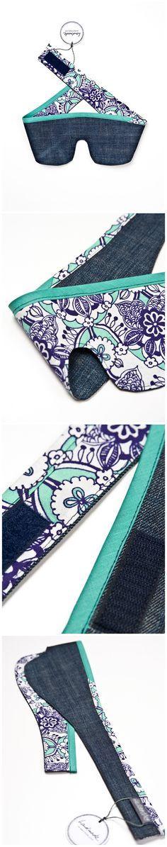 Schlafmaske »Orientalische Blumen« // Design: #dickoepfig