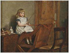 George Goodwin Kilburne (British, 1839-1924) «Four in hand»