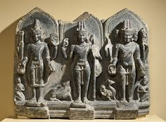 File:The Hindu Gods Vishnu, Shiva, and Brahma LACMA M.86.337 (3 of 12).jpg