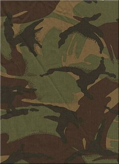 New Zealand disruptive pattern camouflage 1984 to present