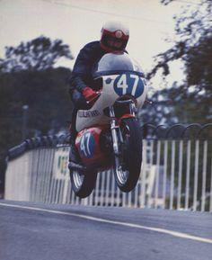 motorbikethings: Manx GP-1976 Ballaugh Bridge