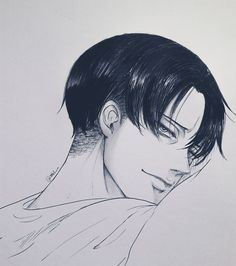 Levi is a Living heart attack Levi Ackerman, 5 Anime, Fanarts Anime, Anime Art, Eren E Levi, Levi And Erwin, Levi X Petra, Attack On Titan Fanart, Attack On Titan Levi
