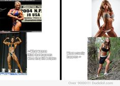 What women think will happen to them if they lift weights, and what actually happens.