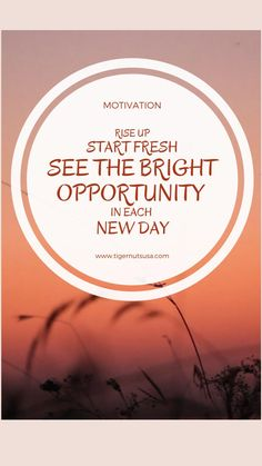 New Day, Opportunity, Motivation, Inspirational, Brand New Day, Inspiration