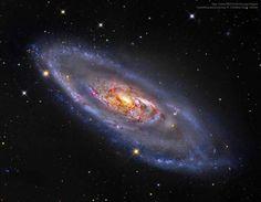 Spiral Galaxy M16  Credit: NASA, ESO, Giovanni Paglioli