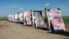 Cadillac Ranch, Amarillo, Texas