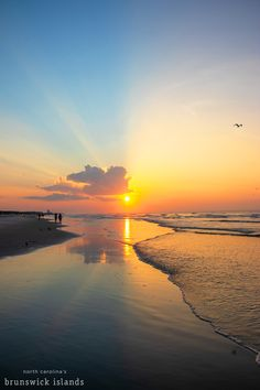 Catch the sunrise this Labor Day in NC's Brunswick Islands! Visit www.ncbrunswick.com to plan your beach getaway today! Visit Nc, Nc Beaches, Good Morning Sunshine, Sunset Beach, Islands, Tourism, Things To Do, Sunrise, Surfing