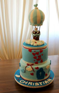 Hot air baloon- Cake