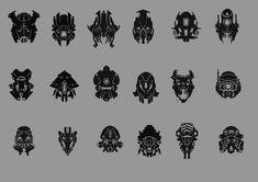 helmet designs by QuailMail.deviantart.com on @DeviantArt