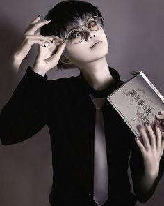 Takuwest {China} as Haise Sasaki {Tokyo Ghoul: re}  #incosverscosplay #cosplay…