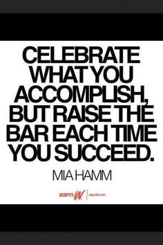 Great Quote by Mia Hamm