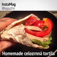 Zdravá a krásná...: Recept - Domácí celozrnná tortilla - by @ajazhr