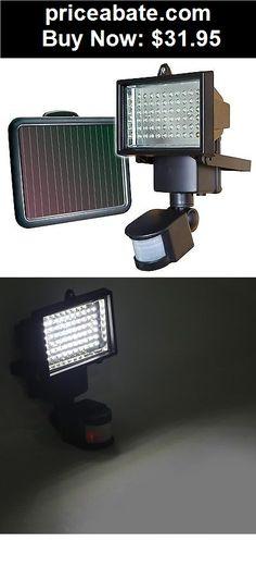 Wonderful Farm Garden: 60 LED Solar Powered Outdoor Garden Motion Sensor Security Flood  Light Spot