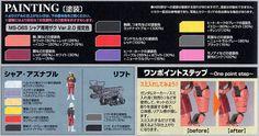 MS-06S Char`s Zaku II Ver.2.0 (MG) (Gundam Model Kits) Color1