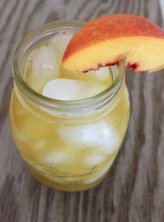 Peach Oolong Tea: a recipe