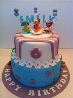 Lalaloopsy Party Cake | Cakes by Cathy~ Chicago