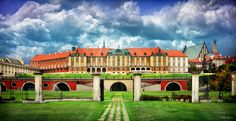 The Royal Castle in Warsaw - by Viktor Korostynski