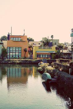 Venice Canals, California! #Venice #California #Losangeles