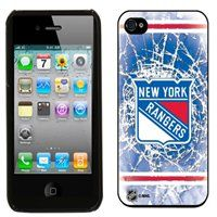 New York Rangers Shattered Hard iPhone 4/4S Snap Case