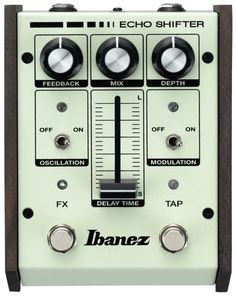 Ibanez ES2 Echo Shifter Analog Delay Guitar Effects Pedal